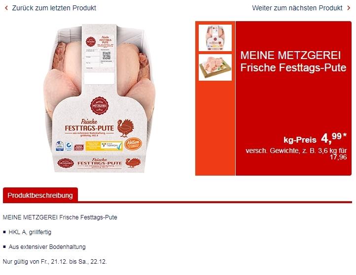 Цены на мясо в Германии