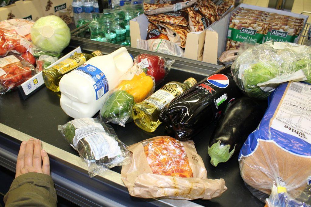 Цены на продукты в магазинах США