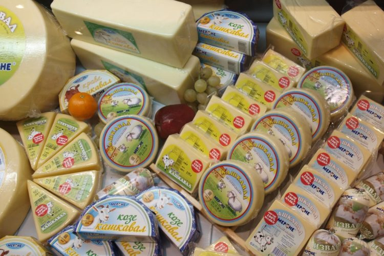Цены на продукты в Болгарии: болгарские сыры
