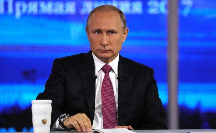 Президент Путин, который дает много обещаний