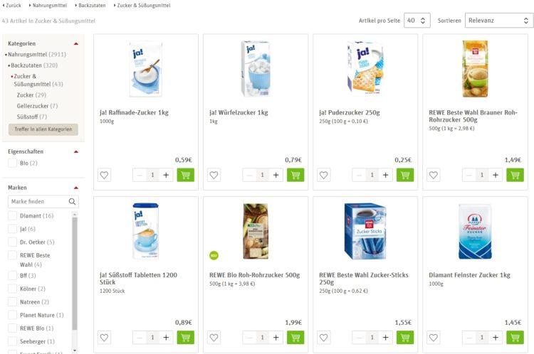 Сколько стоит сахар в Германии
