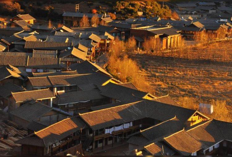 Китайское село