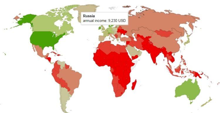 Россия в рейтинге WorldData