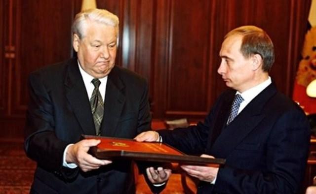 Количество миллиардеров в РФ при Ельцине и при Путине