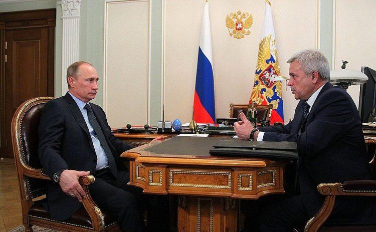 Алекперов у Путина