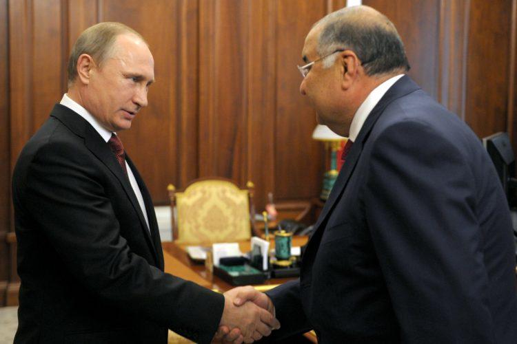 Усманов и Путин