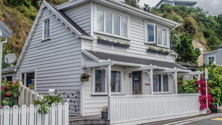 Типичный дом новозеландского пенсионера