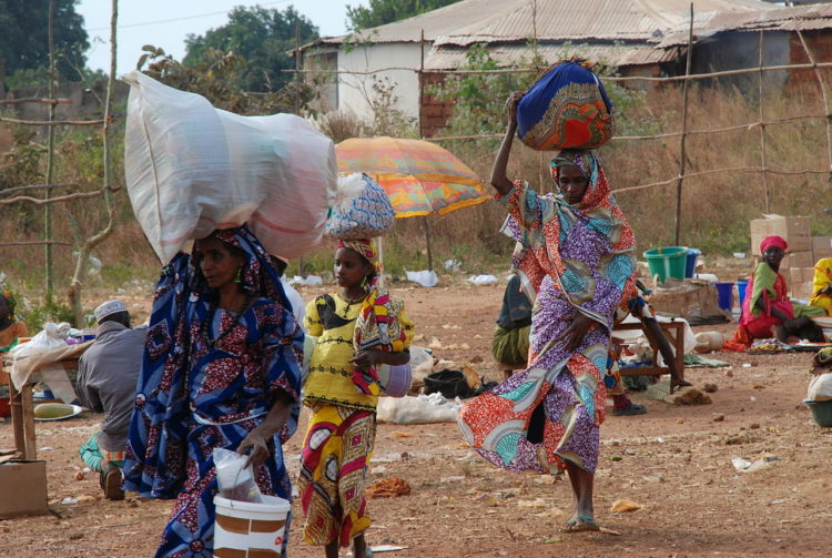 Зарплаты в республике Чад