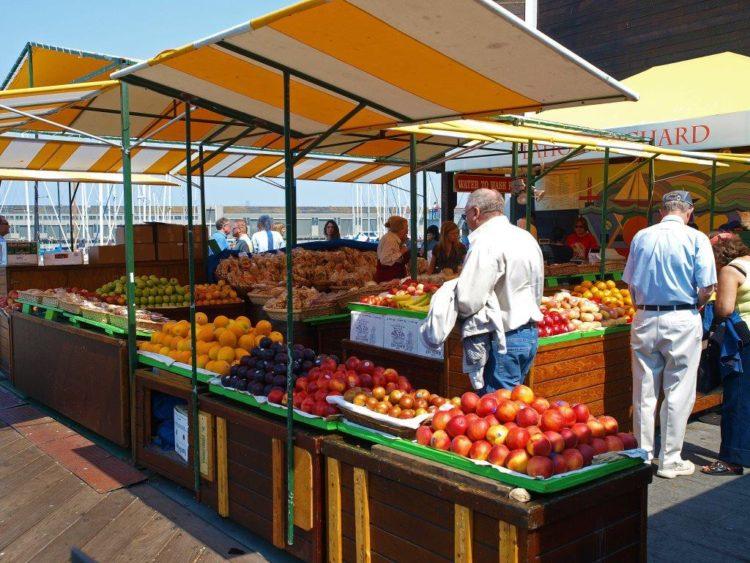 Как выглядит овощной рынок в США - Калифорния