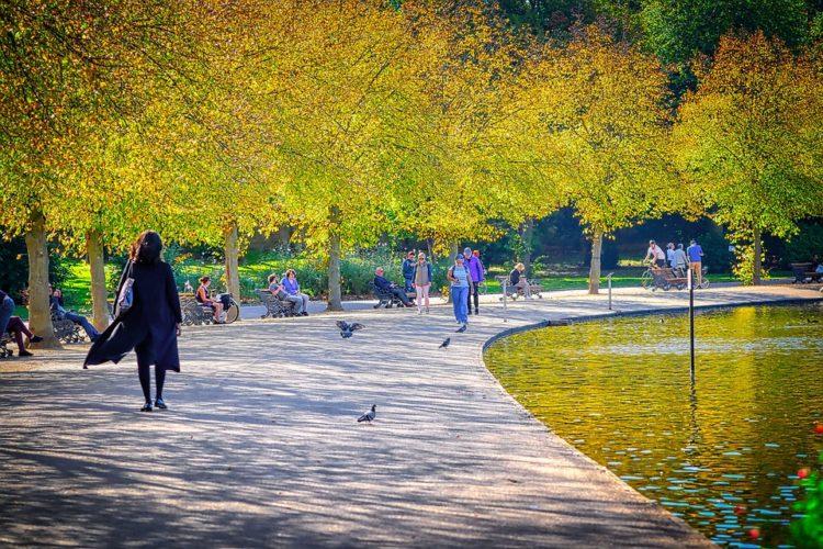 Жизнь в Великобритании, Лондонский парк