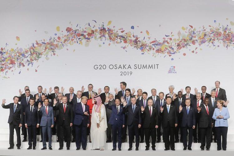 Лидеры стран Большой Двадцатки
