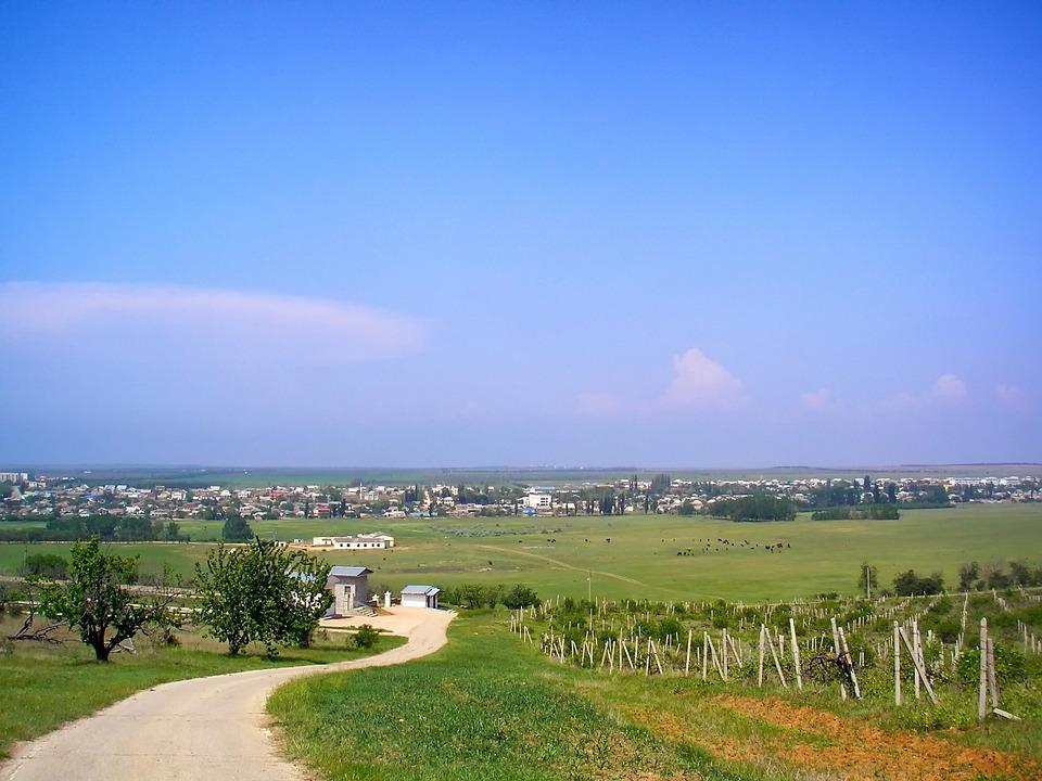 Так выглядит сельская местность в Белоруссии
