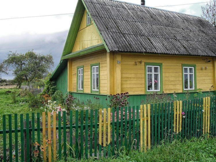 Сельский дом в провинциальной Белоруссии
