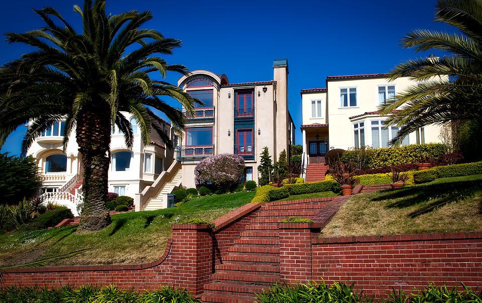 Частное домовладение в Сан-Франциско, Калифорния. Потянет на 200-250 млн рублей