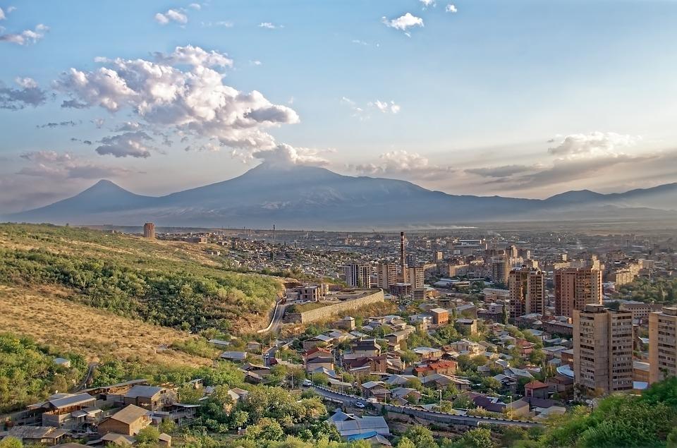Армения, вид на Ереван