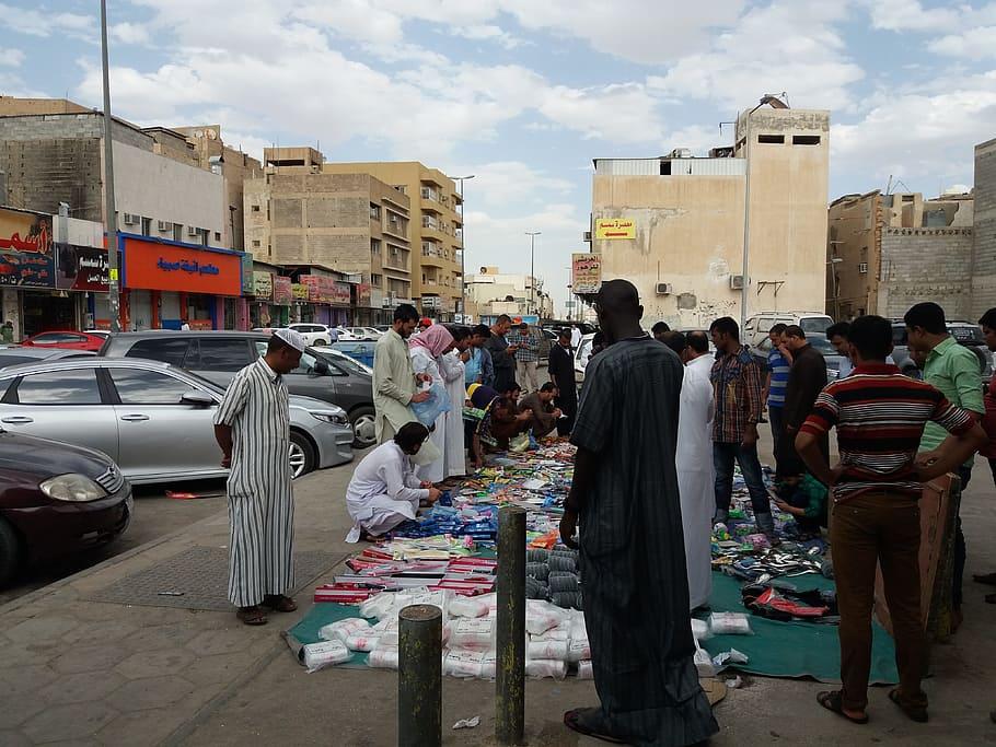 Уличная торговля в Саудовской Аравии