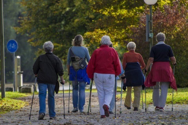 Пенсионеры в Дании