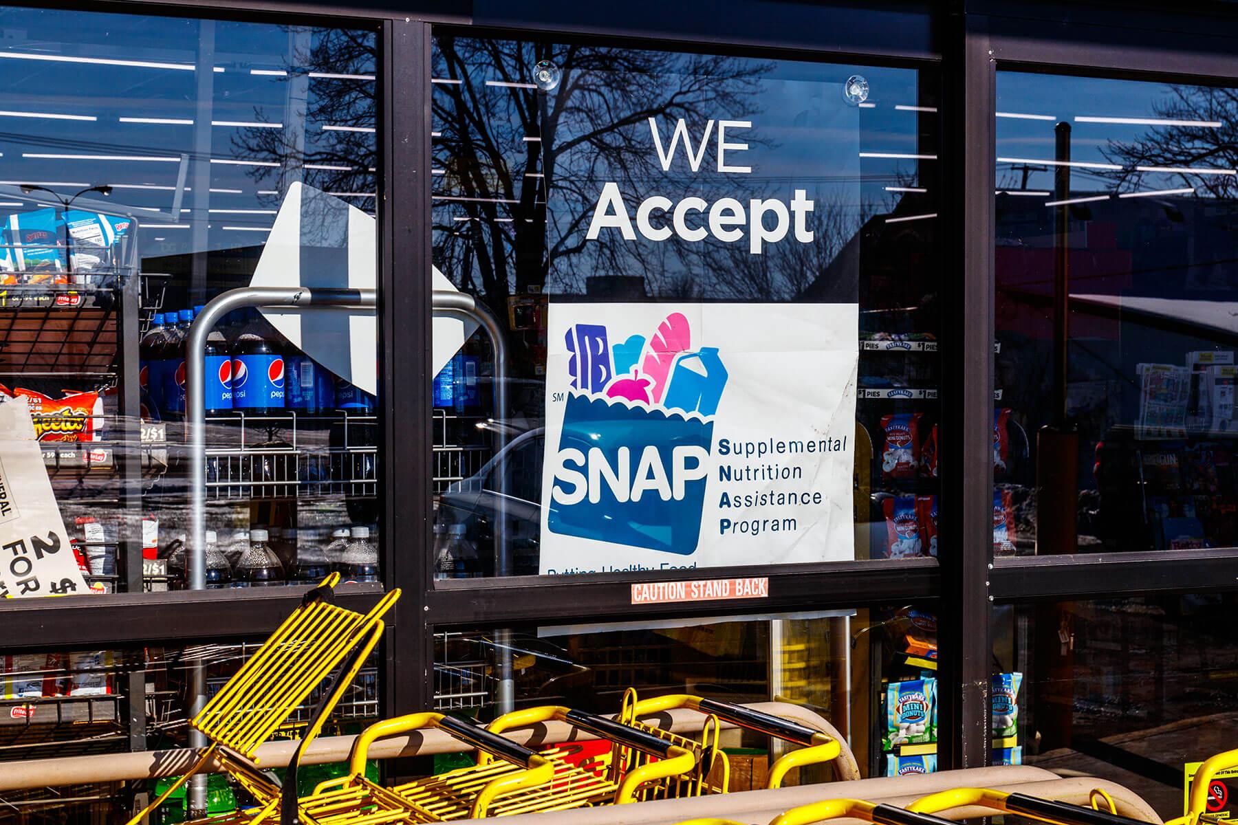 Программа дополнительного питания SNAP в США
