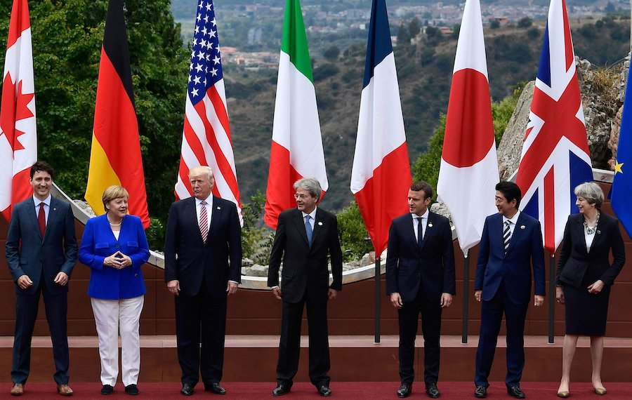 МРОТ в странах Большой семерки в 2021 году
