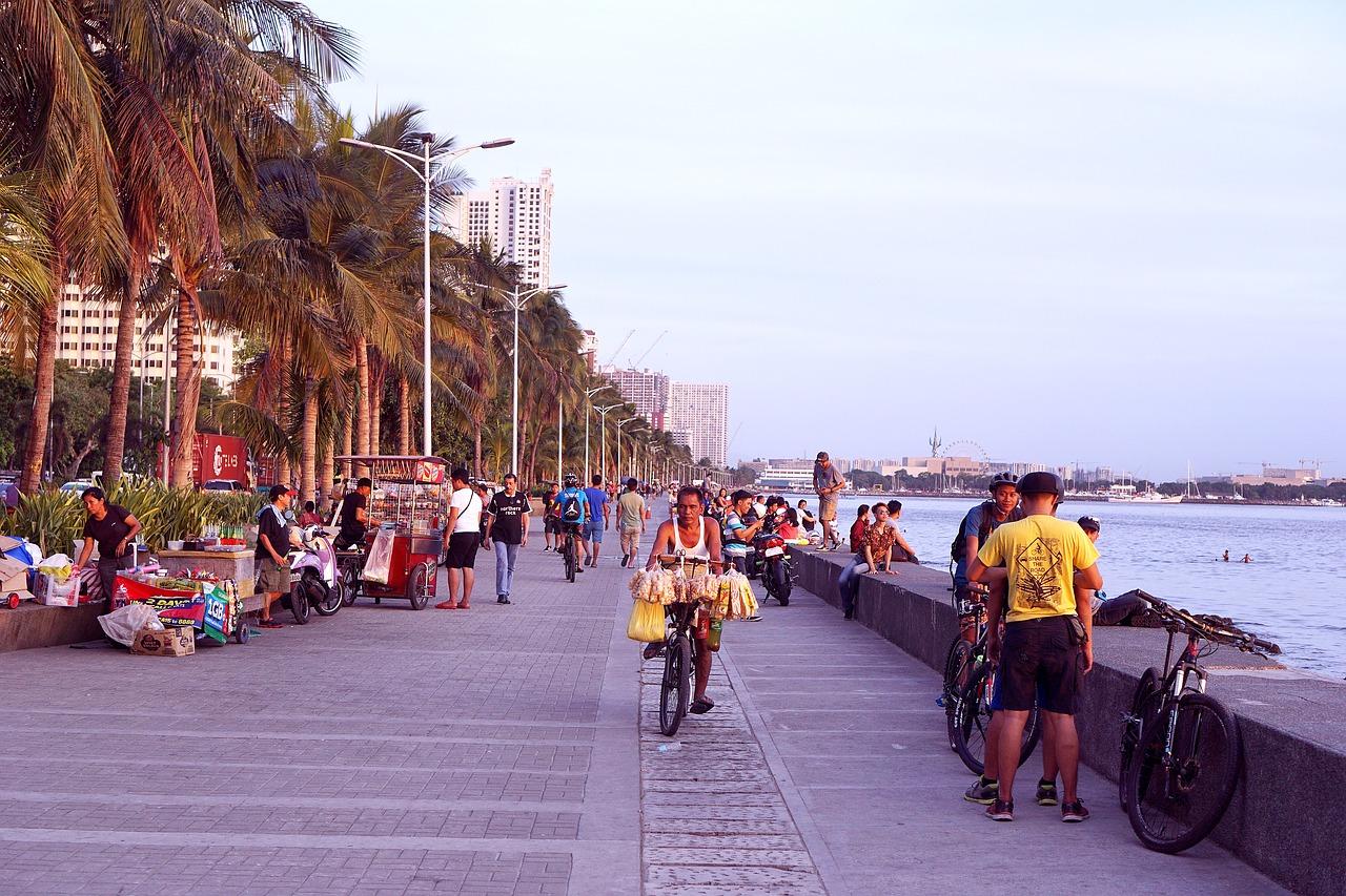 Манила, столица - здесь МРОТ выше, чем в других регионах Филиппин