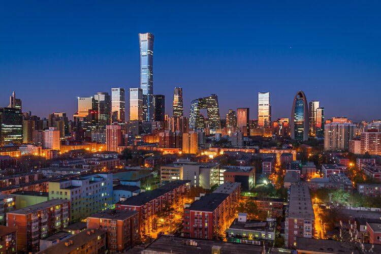 Пекин. Благодаря госпрограмме в Китае строится новое доступное жилье