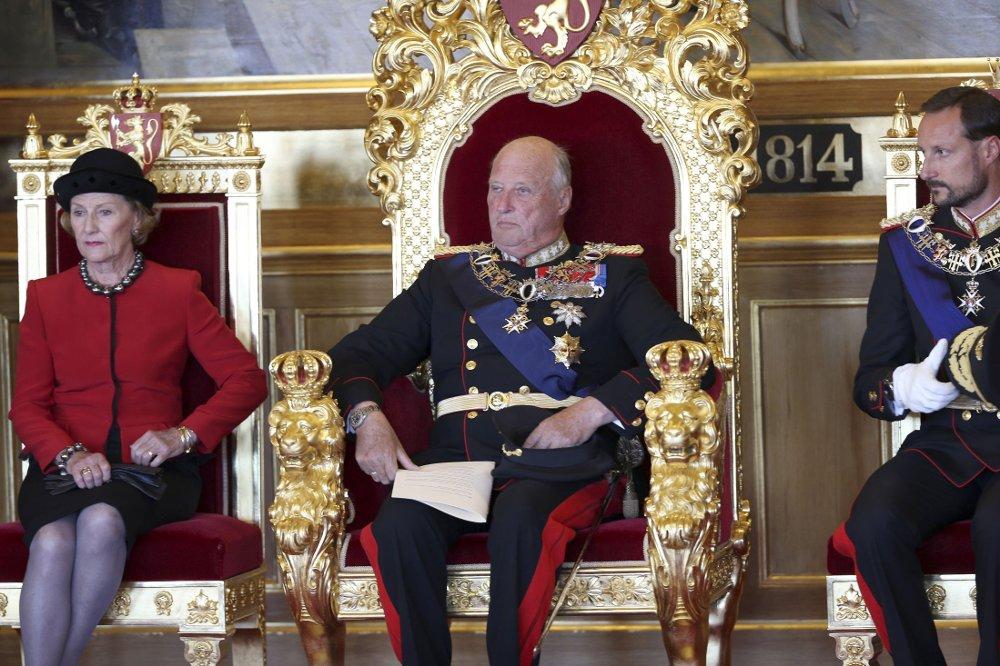 Король Норвегии Харальд V