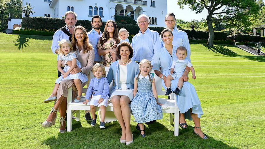 Шведская королевская семья