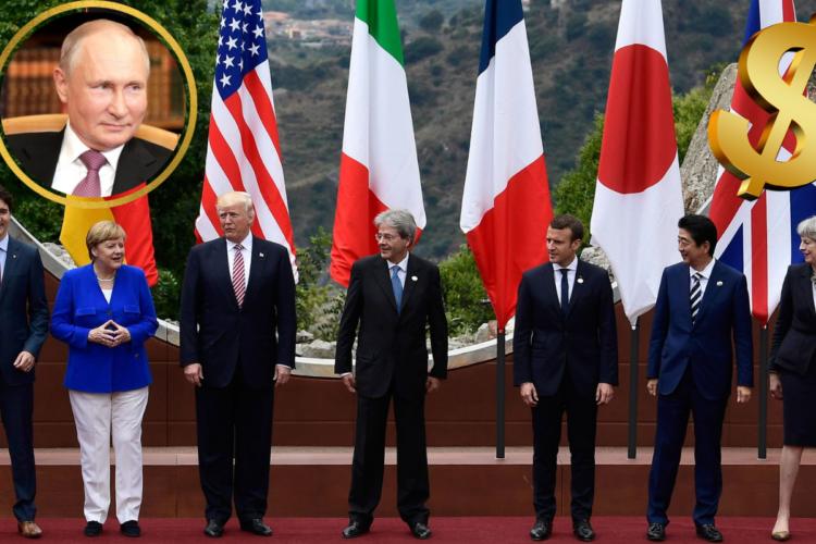 Россия и страны Большой Семерки
