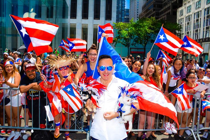 Каждый год во 2-е воскресенье июня в США проходит парад в честь дня Пуэрто-Рико