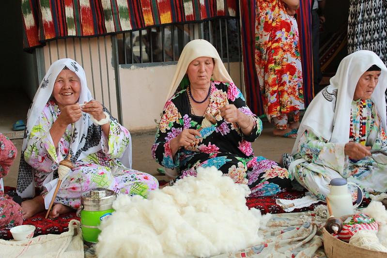 Хлопок – одна из основ экономики Таджикистана
