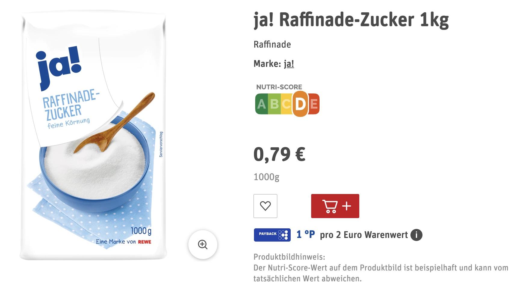 Цены на сахар в Германии